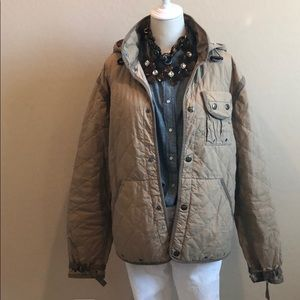 Polo Ralph Lauren Quilted Utility Hooded Jacket